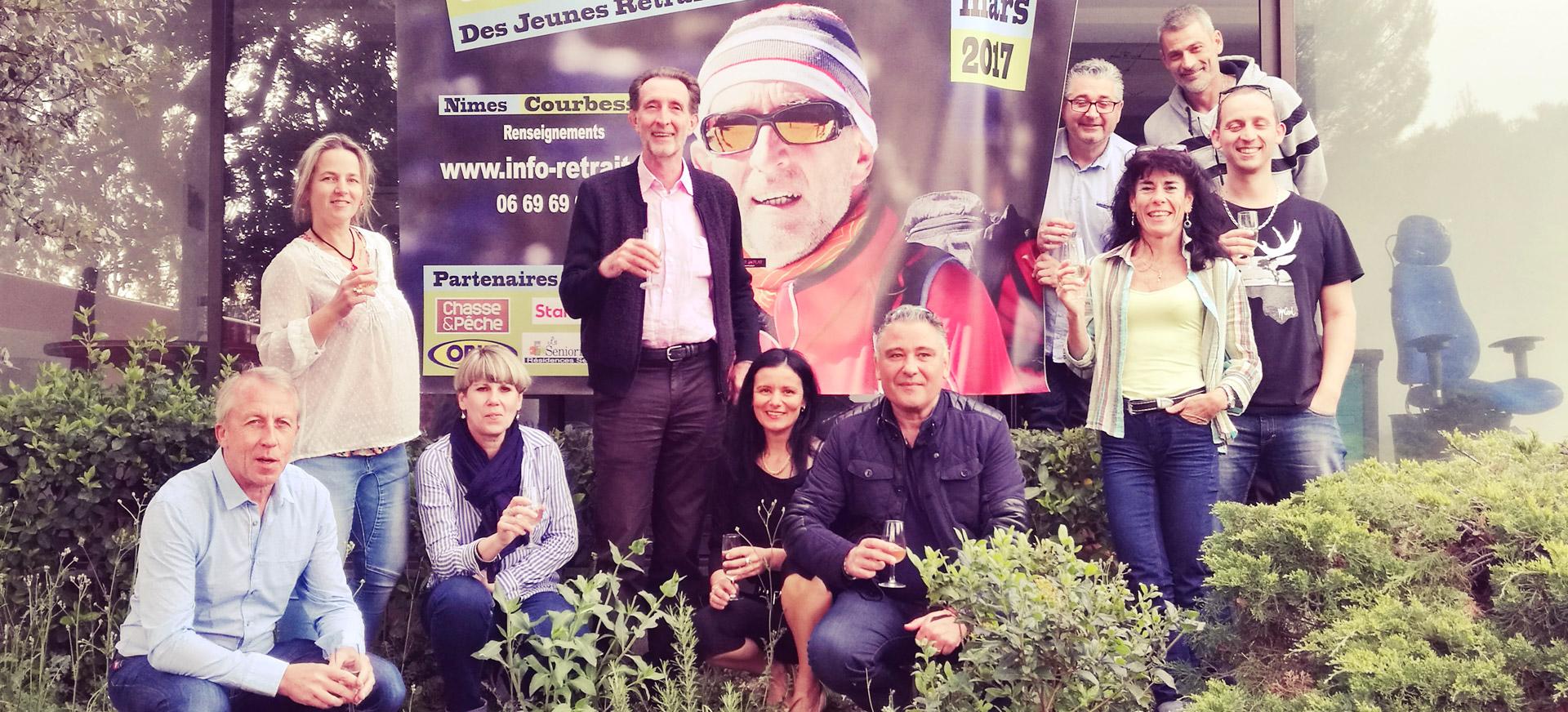 équipe impact publicité espace urbain